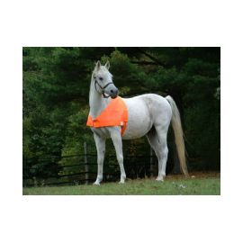 The Original Equine Protectavest blaze orange horse vest for hunting season safety